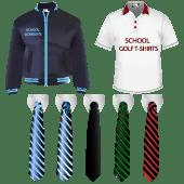 bomber jackets school tie
